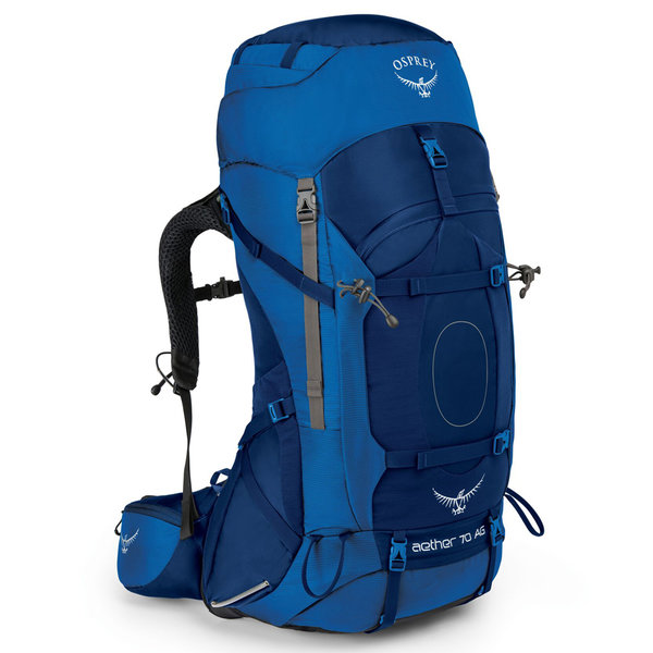 Osprey Aether AG 70 Pack - Men's Color: Neptune Blue