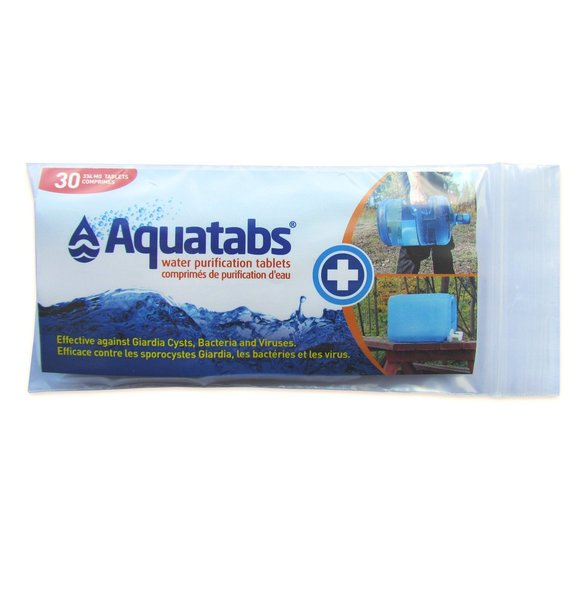 Aquatabs Water Purification Tablets - Package of 30x334mg