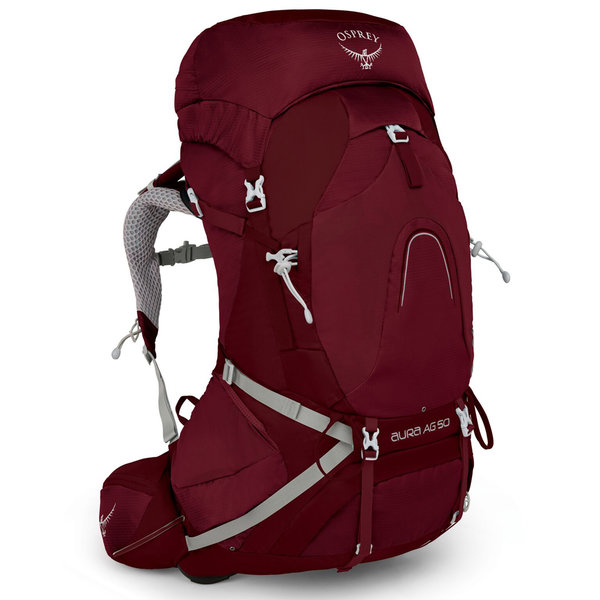 Osprey Aura AG 50 Pack - Women's Color: Gamma Red