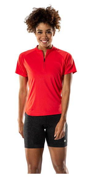 Bontrager Kalia Fitness Jersey - Women's Color: Infrared