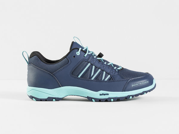Bontrager SSR Multisport Cycling Shoe - Women's Color: Nautical Navy/Miami Green