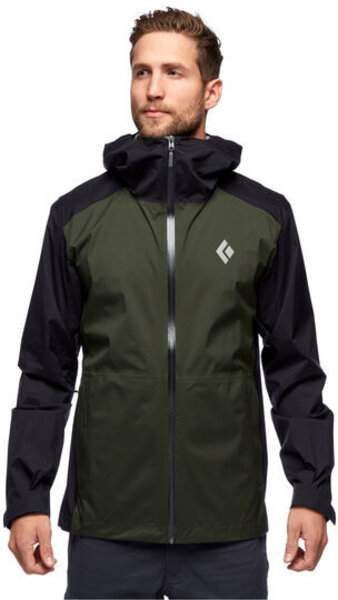 Black Diamond Stormline Stretch Rain Shell Jacket - Mens