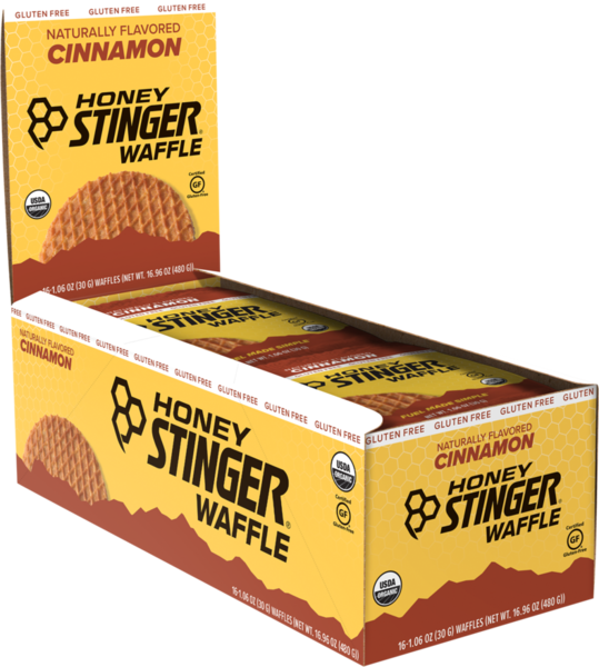 Honey Stinger Cinnamon Gluten-Free Waffle - Box of 16