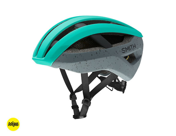Smith Optics Network MIPS Color: Matte Jade - Charcoal