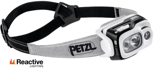 Petzl Swift RL (900 Lumens) USB Rechargeable