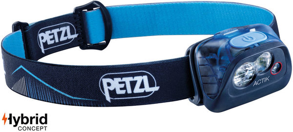 Petzl Actik Headlamp (350 Lumens) Color: Blue