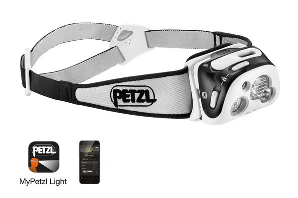 Petzl Reactik+ USB Rechargeable Headlamp (300 Lumens)