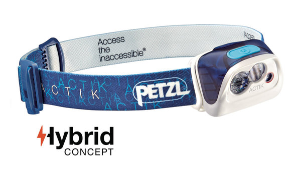 Petzl Actik Headlamp (300 Lumens) Color: Blue