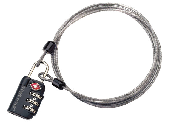 Eagle Creek 3 Dial TSA Lock & Cable