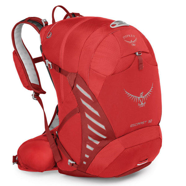 Osprey Escapist 32 Pack Color: Cayenne Red