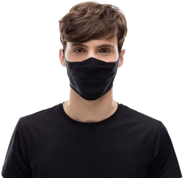 Buff Filter Mask Color: Solid Black