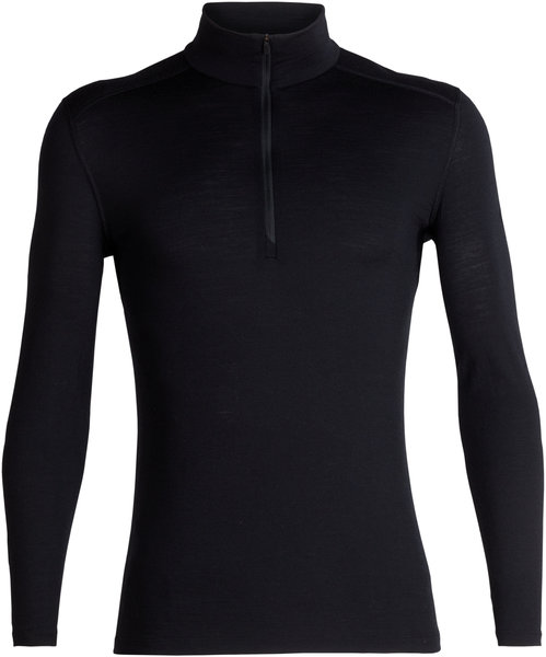 Icebreaker 200 Oasis LS Half Zip - Men's Color: Black