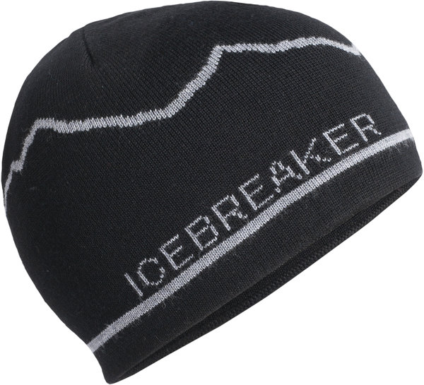 Icebreaker Adult Icebreaker Beanie Mt. Cook Color: Black
