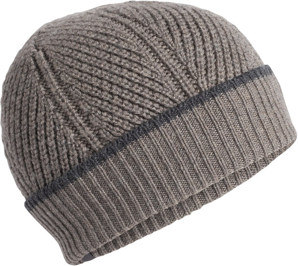 Icebreaker Waypoint Beanie Color: Toast Heather