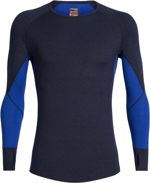 Icebreaker BodyfitZONE™ 260 Zone Long Sleeve Crewe - Men's