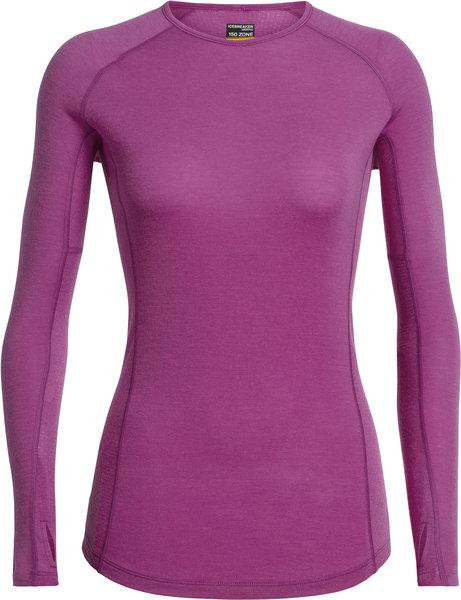 Icebreaker BodyfitZONE™ 150 Zone Long Sleeve Crewe - Women's