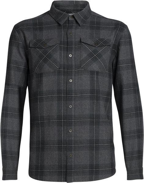 Icebreaker Lodge Long Sleeve Flannel Shirt - Men's