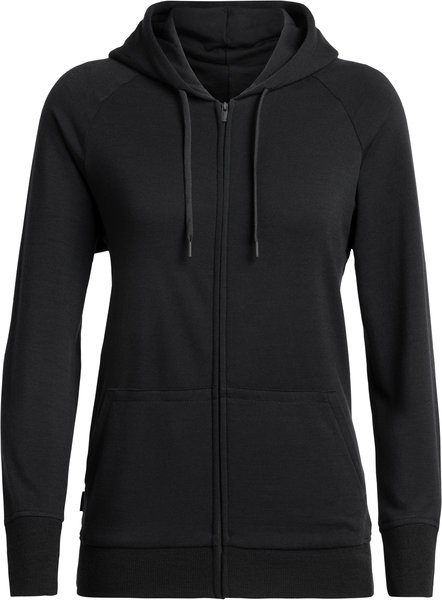 Icebreaker Helliers Long Sleeve Zip Hood - Women's