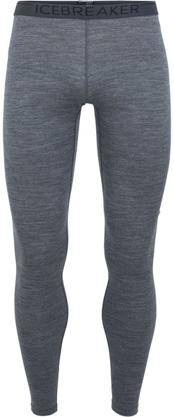 Icebreaker 200 Oasis Leggings - Men's Color: Gritstone Heather