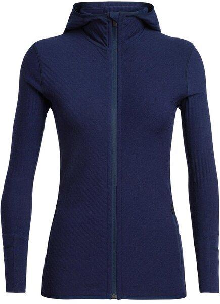 Icebreaker Descender Long Sleeve Zip Hood - Women's
