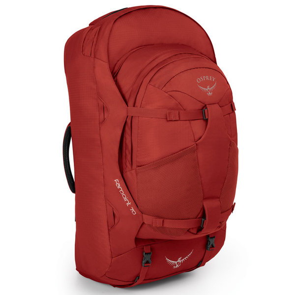 Osprey Farpoint 70 Travel Pack - Men's Color: Jasper Red