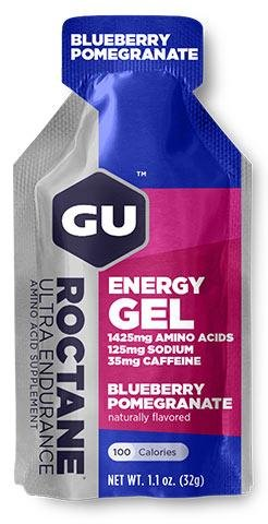GU Roctane Energy Gel - Blueberry Pomegranate (32g) Flavor: Blueberry Pomegranate