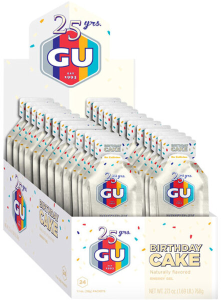 GU Energy Gel - Birthday Cake (32g) - Box of 24