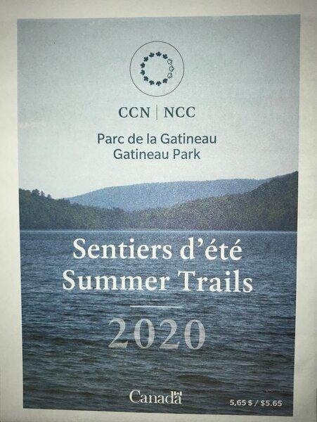NCC Gatineau Park NCC Summer Trails Map
