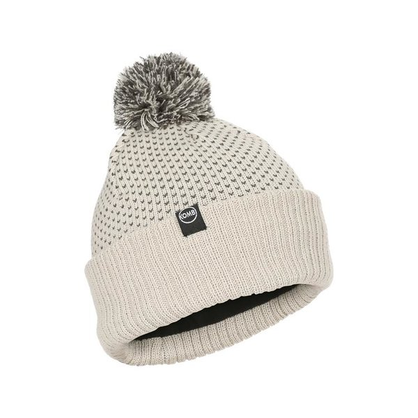 Kombi The Snow Fall Pompom Beanie - Women's Color: Silver Crowds