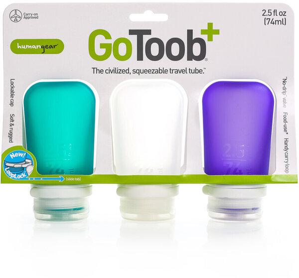 Humangear GoToob+ 3 Pack