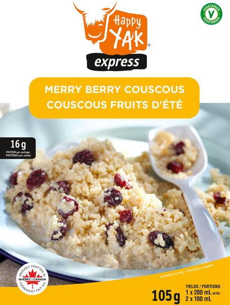 Happy Yak Merry Berry Couscous
