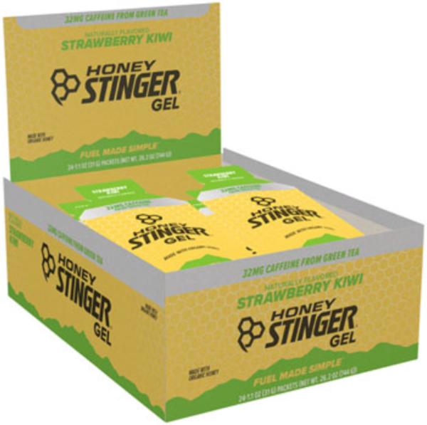 Honey Stinger Organic Energy Gel - Strawberry & Kiwi (37g) - Box of 24