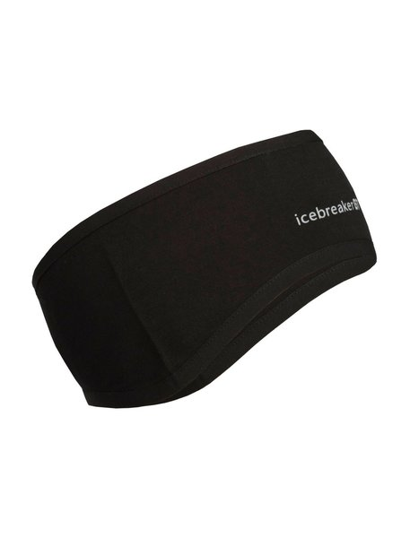 Icebreaker Adult Quantum Headband Color: Black/Black