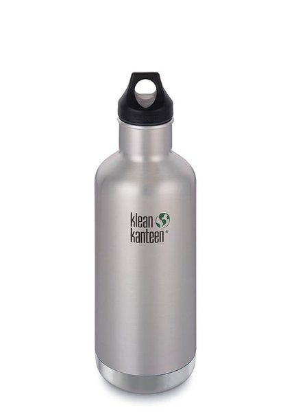 Klean Kanteen Insulated Classic 32oz Color: Brushed Stainless