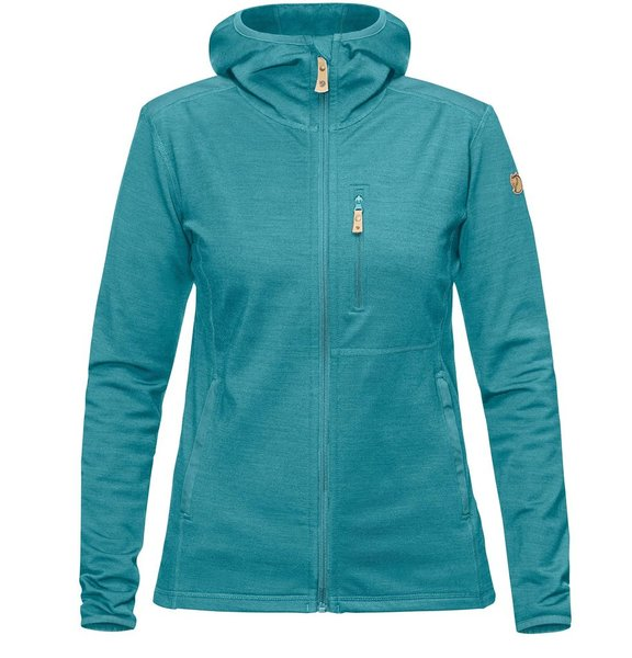 Fjallraven Keb Fleece Hoodie - Women's Color: Lagoon