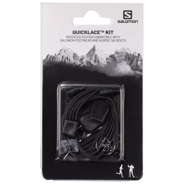 Salomon Quicklace Kit Color: Black
