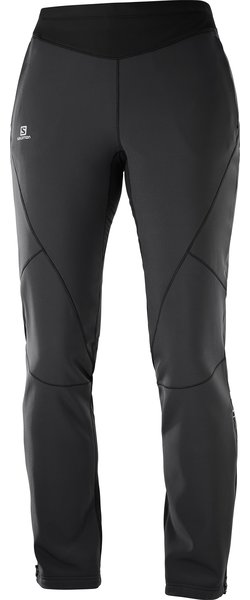 Salomon Lightning Warm Softshell Pant - Women's Color: Black