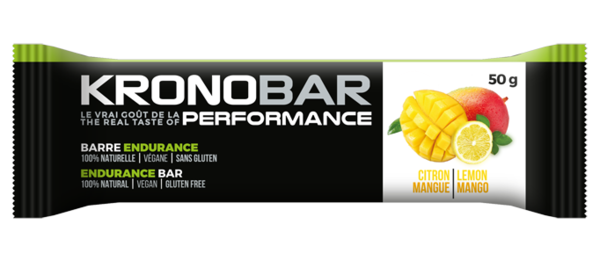 Kronobar Mango - Lemon Endurance Bar (50g)