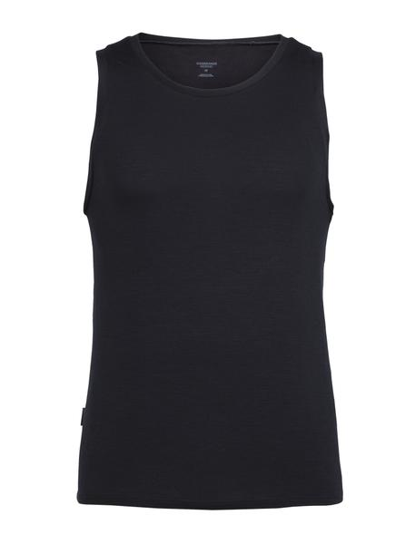 Icebreaker Anatomica Tank - Men's Color: Black/Monsoon