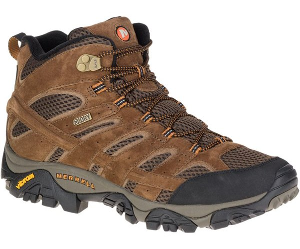 Merrell Moab 2 Mid Waterproof (Wide Sizes Available) - Men's
