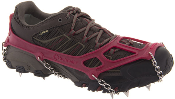 Kahtoola MICROspikes Footwear Traction Color: Red