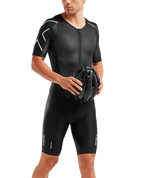 2XU PERFORM Full Zip Sleeved Trisuit - Men's