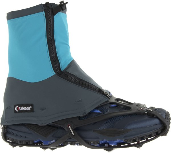 Kahtoola CONNECT gaiter Mid Color: Gray/Teal