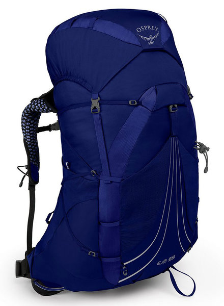 Osprey Eja 58 Pack - Womens Color: Equinox Blue