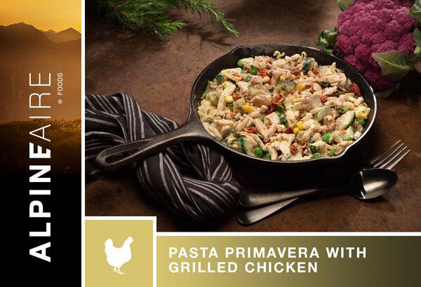 AlpineAire Pasta Primvera with Grilled Chicken