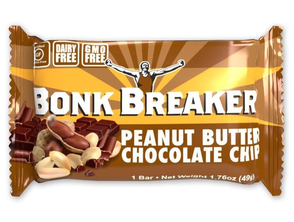 Bonk Breaker Energy Bar - Peanut Butter Chocolate Chip (49g)