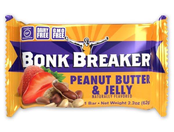 Bonk Breaker Energy Bar - Peanut Butter & Jelly (62g)