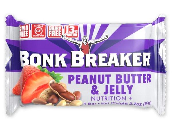 Bonk Breaker Protein Bar - Peanut Butter & Jelly (62g)
