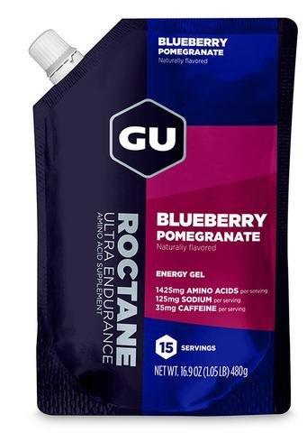 GU Roctane Energy Gel - Blueberry Pomegranate (480g) - 15 servings