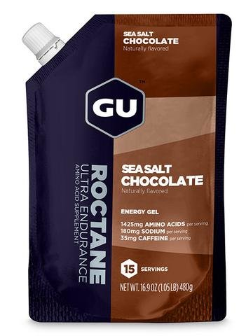 GU Roctane Energy Gel - Sea Salt Chocolate (480g) - 15 servings